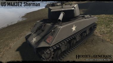 US Jumbo Sherman Heavy Tank