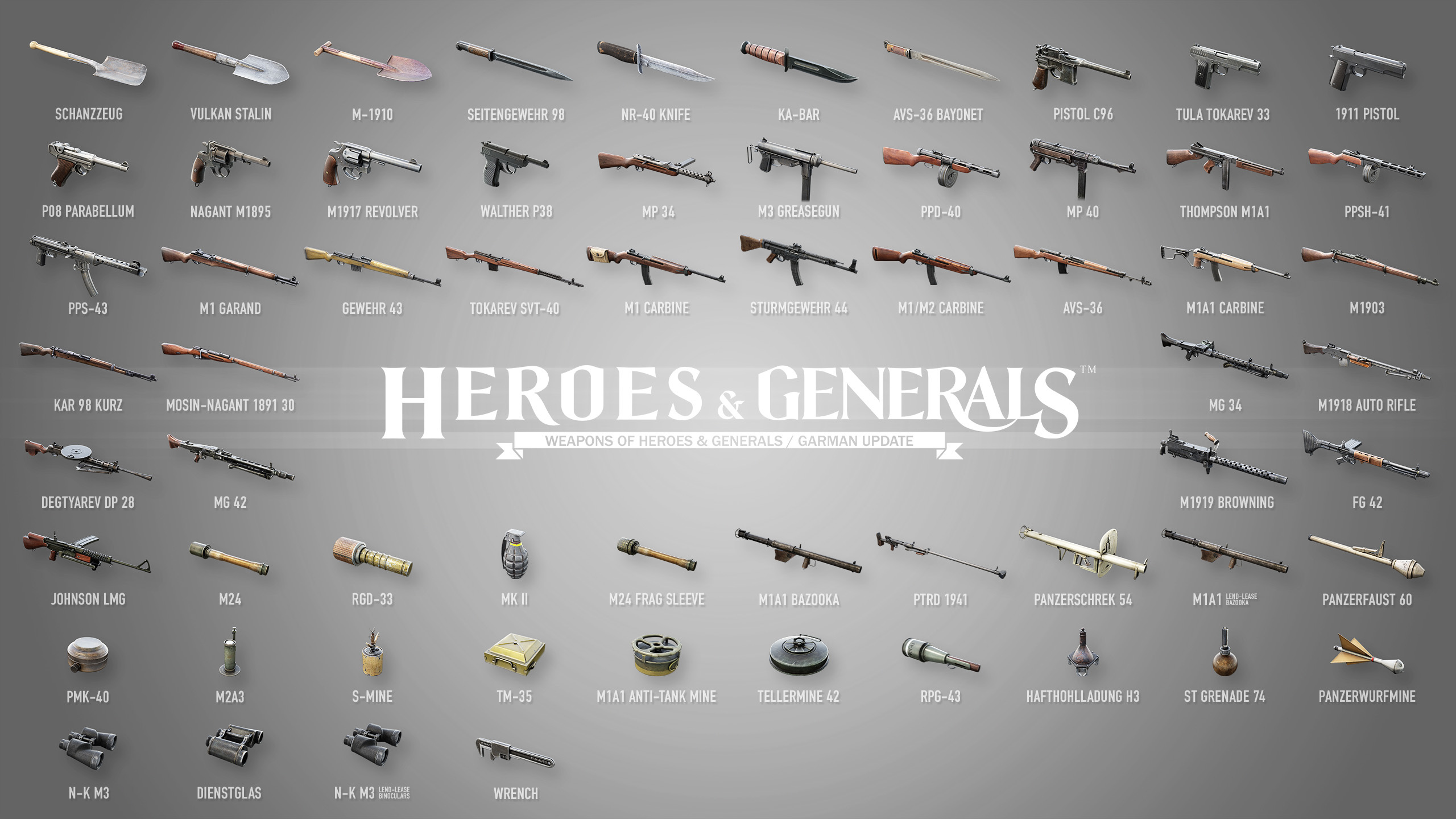 heroes and gernerals